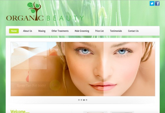 Organic Beauty Salon