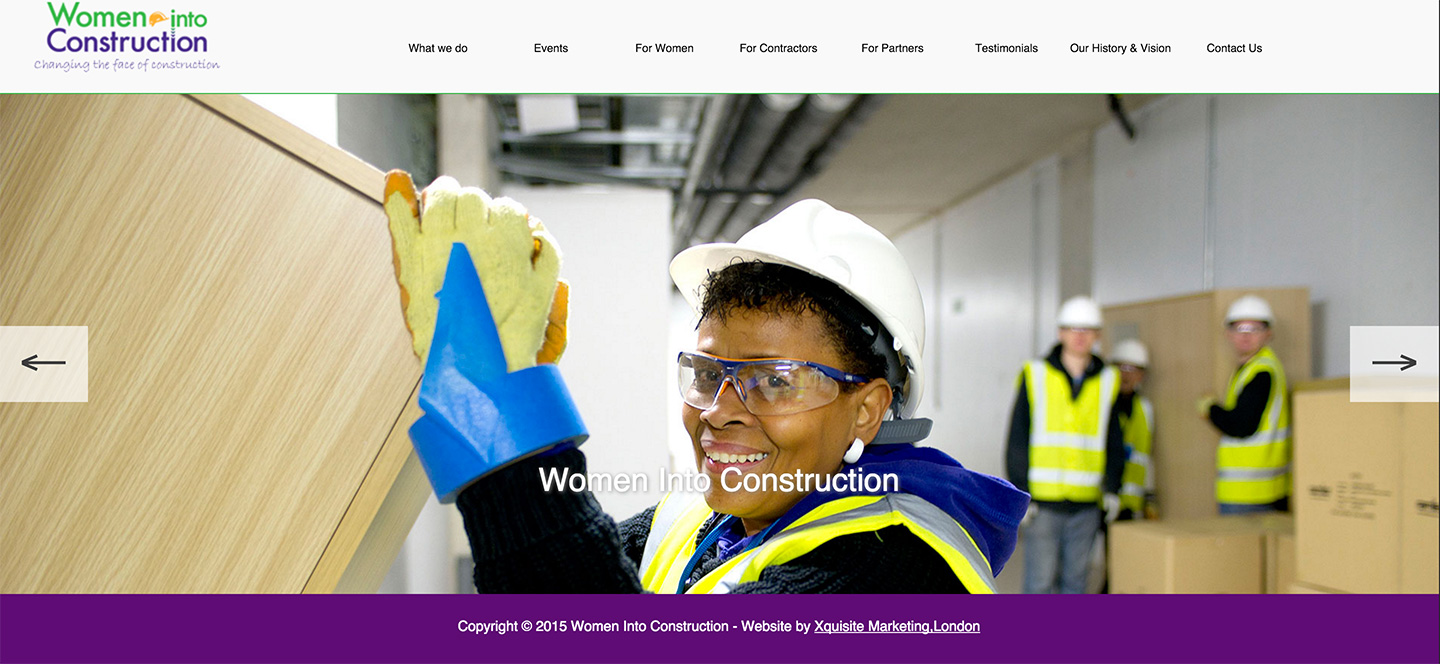 Women Into Constructions CIC